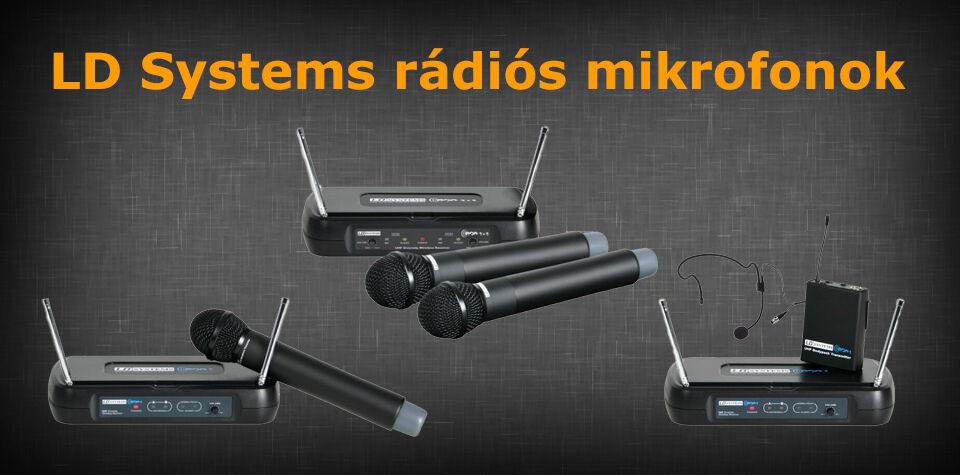 LD Systems mikrofonok