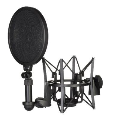 Rode SM6 rezgésgátló mikrofonfogó POP filterrel