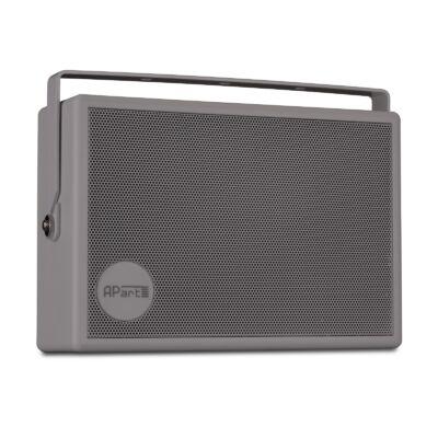 Apart SMB6-G 100V-os fali hangfal, szürke, fali konzollal