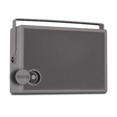 Apart SMB6V-G 100V-os fali hangfal, szürke, fali konzollal