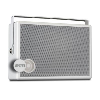 Apart SMB6V-W 100V-os fali hangfal, fehér, fali konzollal