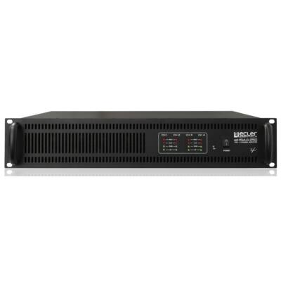 Ecler eHSA4-250 4 csatornás 100V-os végerősítő