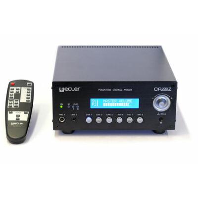 Ecler CA200Z kompakt digitális keverőerősítő