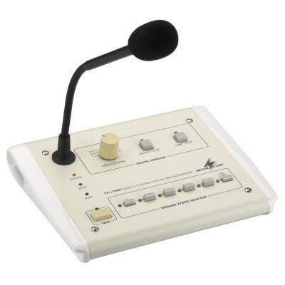 Monacor PA-1120RC zónaválasztós asztali rendszermikrofon