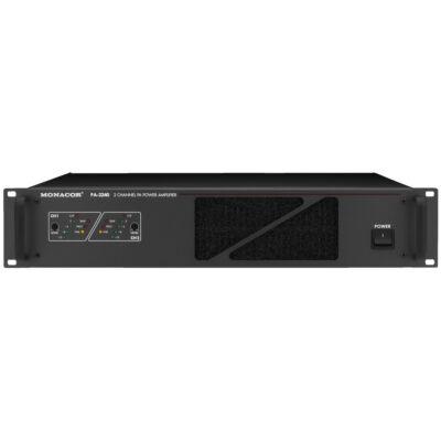 Monacor PA-2240 2 csatornás 100V-os végerősítő