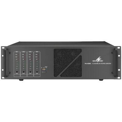 Monacor PA-4240 4 csatornás 100V-os végerősítő