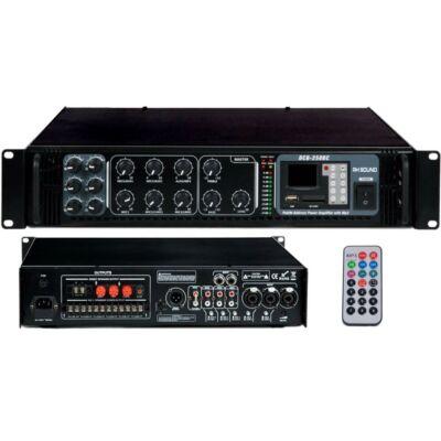 DCB-250BC 100V-os keverőerősítő, MP3 lejátszóval