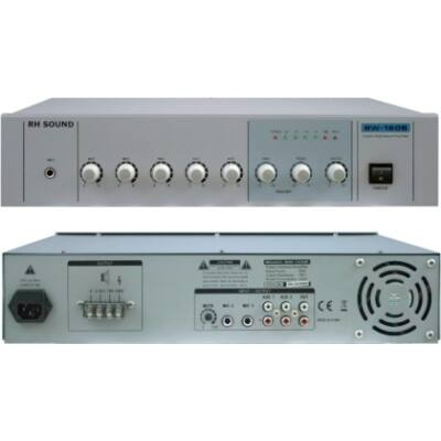 RH SOUND BW-160B 100V-os keverőerősítő