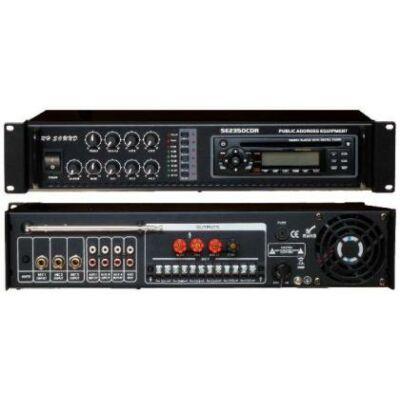 SE-2350B CDR/MP3 100V-os keverőerősítő
