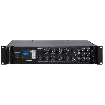 ST-2250BC/MP3+FM+IR 100V-os keverőerősítő