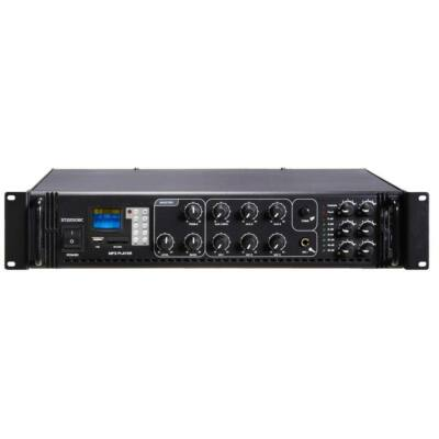 ST-2180BC/MP3+FM+IR 100V-os keverőerősítő