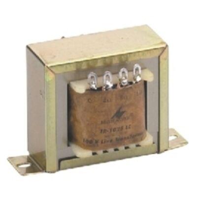 Monacor TR-1025LC 100V-os illesztő transzformátor