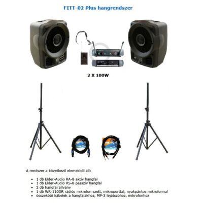 FITT-02 Plus hangrendszer