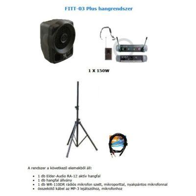 FITT-03 Plus hangrendszer