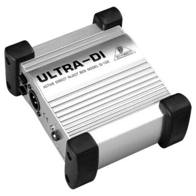 Behringer Ultra-DI DI100 aktív DI-box