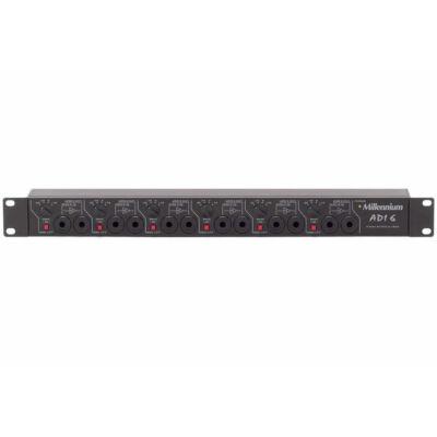 Ágota Technic Millenium ADI-6 6 csatornás aktív DI-box