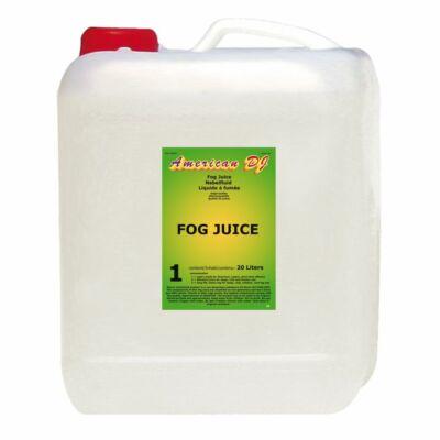 American DJ Fog Juice 1 Light füstfolyadék 20L