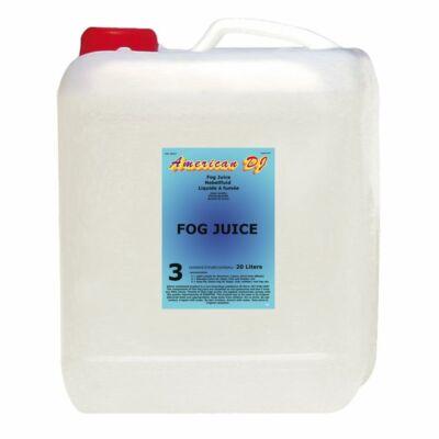 American DJ Fog Juice 3 Heavy 20L füstfolyadék