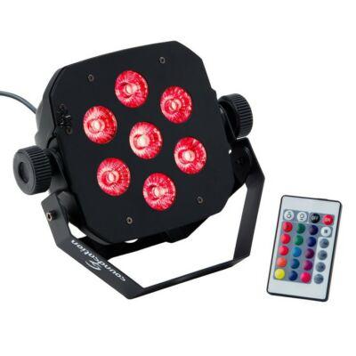 Soundsation PAR-10W-7-R LED-es Par lámpa, 7 x 10W