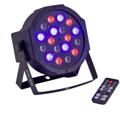 Soundsation PAR-181R LED-es Par lámpa, 18 x 1W