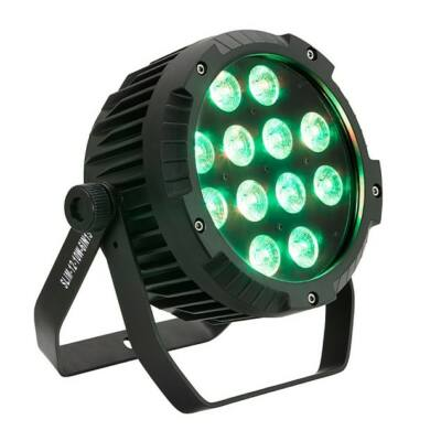 Soundsation SESTETTO 1012 SLIM SILENT LED-es Par lámpa, 12 x 10W