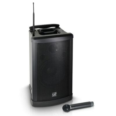 LD Systems System RoadMan – aktív, akkumulátorosmobil, kézi mikrofonnal