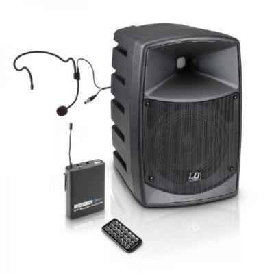"""LD Systems Road Buddy HS 6""""-os akkus hangfal fejmikrofonnal"""