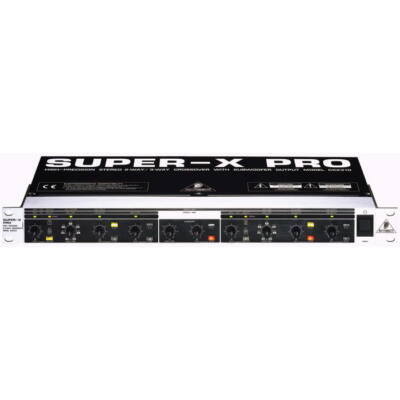 Behringer Super-X Pro CX 2310 analóg crossover