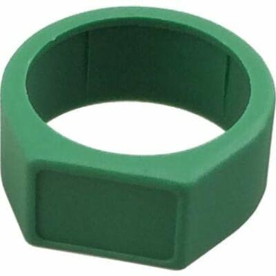 Neutrik XCR-5 jelölő gyűrű NC..X szériához, zöld