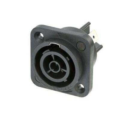 Neutrik NAC3FPX PowerCON True1 TOP – beépíthető hálózati kimenet 250VAC/16A, UV védett