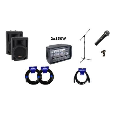 GS Pack - PMX8-HT10 hangrendszer