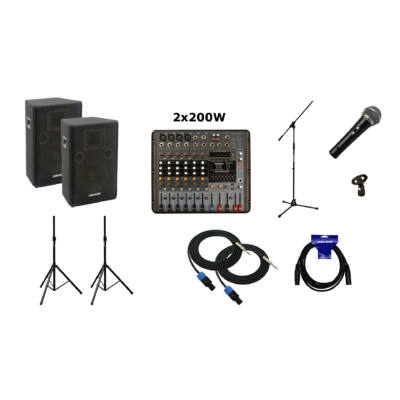 GV Pack - PM808 - LK12 Plus hangrendszer