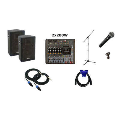 GV Pack - PM808 - LK12 hangrendszer