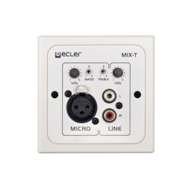 Ecler WPmMIX-T fali vezérlő panel