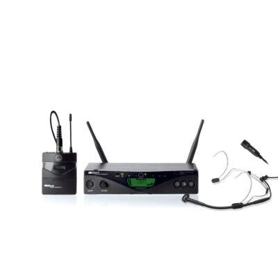 AKG WMS470PT/C555L-CK99L előadói szett, vezeték nélküli mikrofon szett
