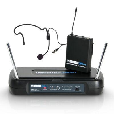 LD Systems ECO2BPH1 vezeték nélküli fejmikrofon szett