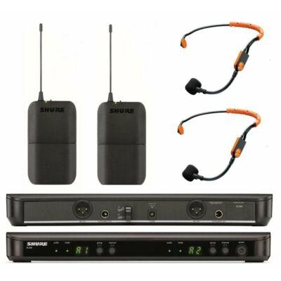 Shure BLX188E/SM31 vezeték nélküli dupla fejmikrofon szett