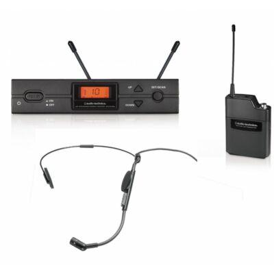 Audio-Technica ATW-2110a/HC2 rádiós fejmikrofon szett