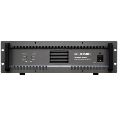 Phonic ICON-300 100V-os végerősítő, 2 végfokkal